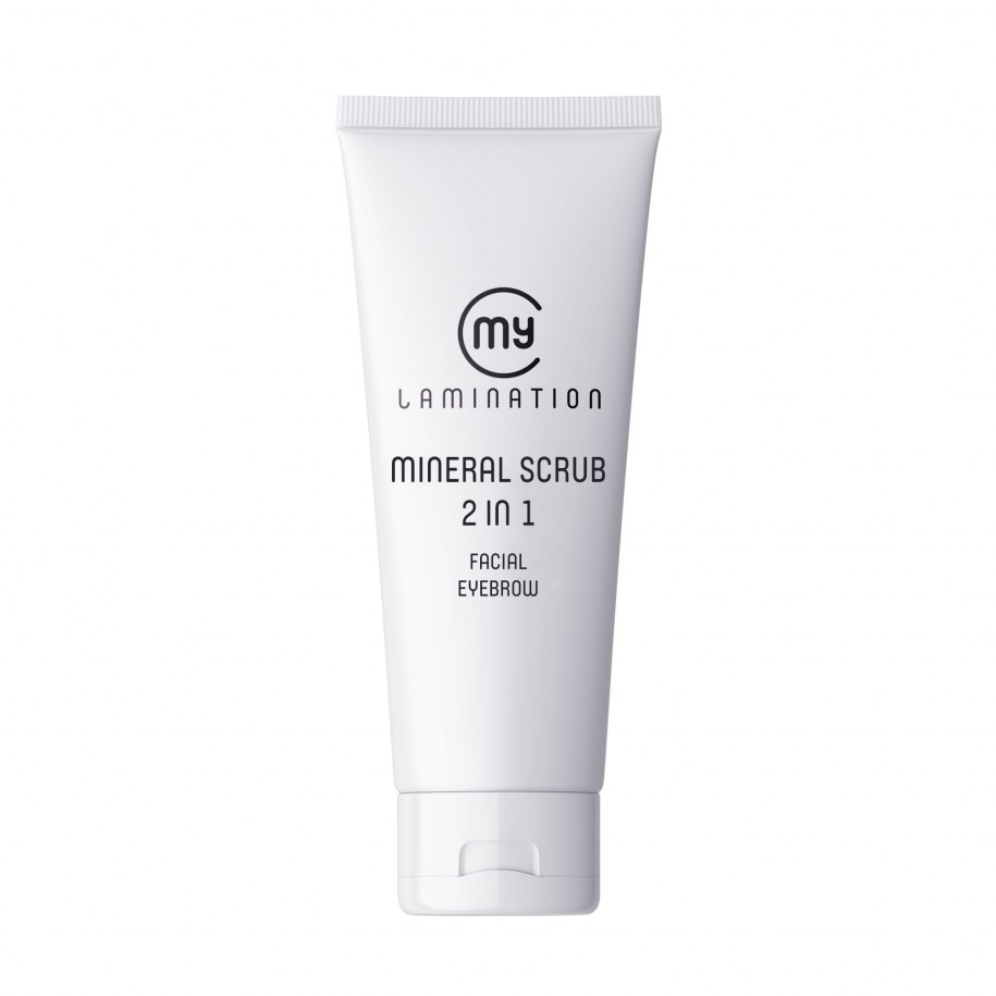 MY LAMINATION MINERAL SCRUB 2 in 1 (Facial + Eyebrow) - 75ml