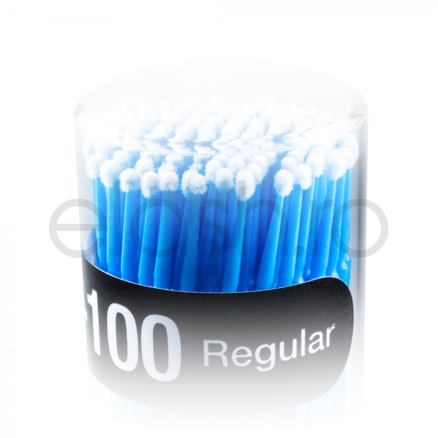 Microaplicatoare Microbrush GEISHA 2.5 mm Extensii Gene Fir cu Fir