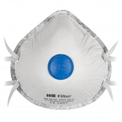 Carbon Respiratory Masks with FFP 2 Valves set 3 pieces